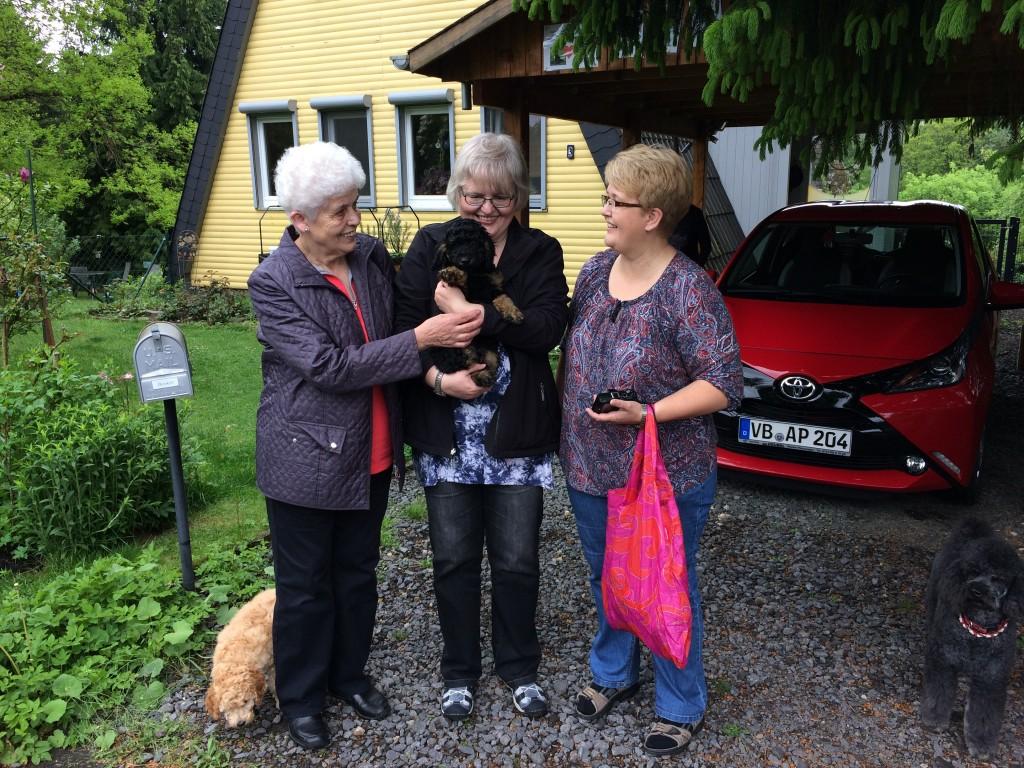 Auf geht's nach Garenfeld - in ein Leben mit lieben Menschen und bestimmt vielen Hundefreunden!
